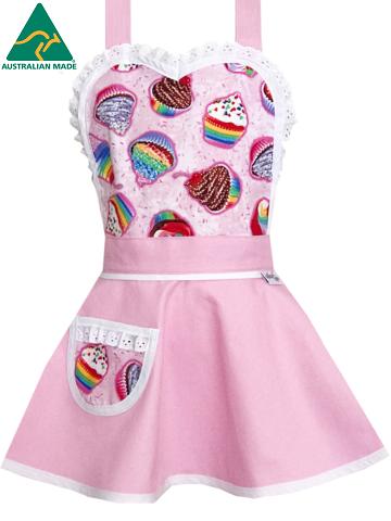 Pink Kids Apron