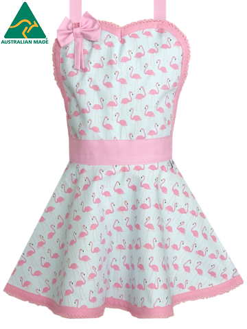 Kids Flamingo Apron