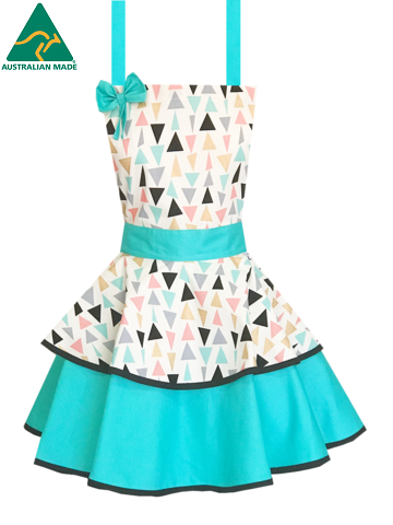 Triangle Apron, Retro Shape Apron, Retro Triangle Apron