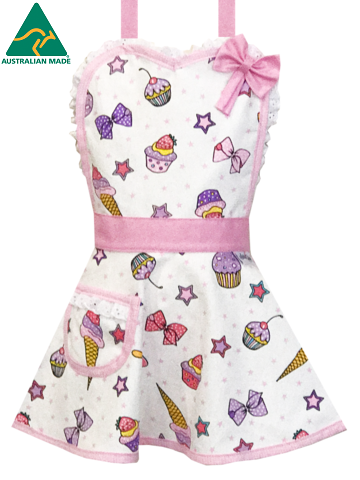 royal princess cupcake apron