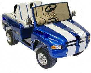 Golf cart truck body kits