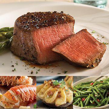 Steak and lobster dinner delivered