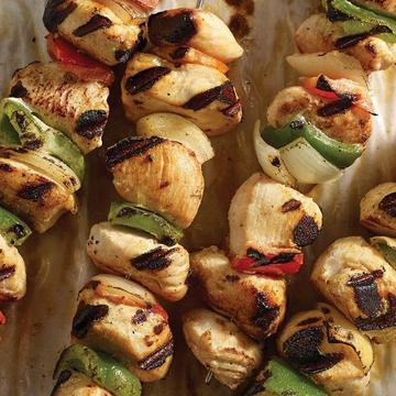 Easy Chicken Kabob Meal