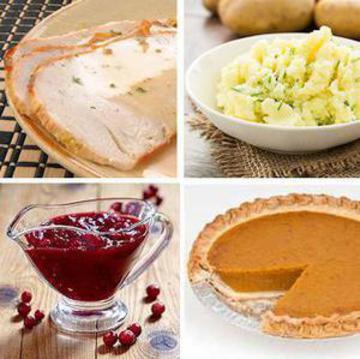 Thanksgiving Dinner for One