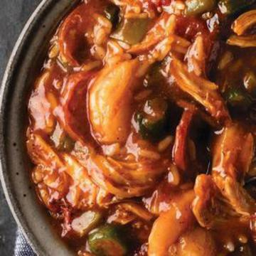 Jambalaya and Rice Prepared Meal