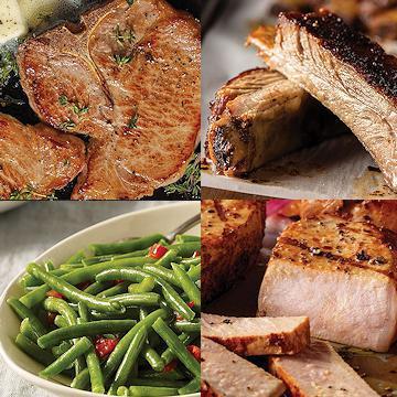 KETO Pork Veggies Assortment