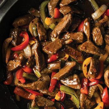 Skillet Meals Sent Sweet Red Pepper Beef
