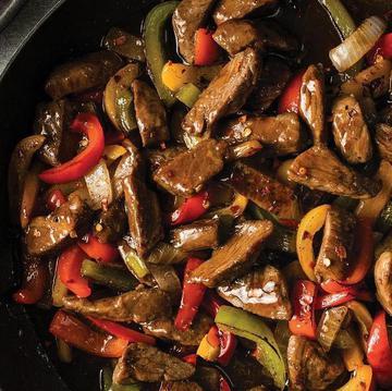 Skillet Meals Sent Sweet Red Pepper Beef