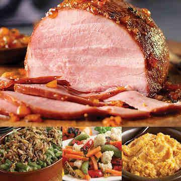 Prepared Ham Dinner Delivered