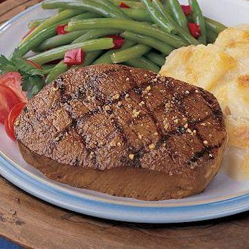Top sirloin meal delivered