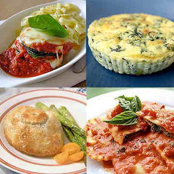 Vegetarian Dinner Delivery