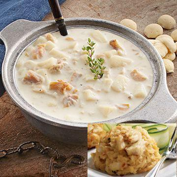 Gourmet New England Clam Chowder