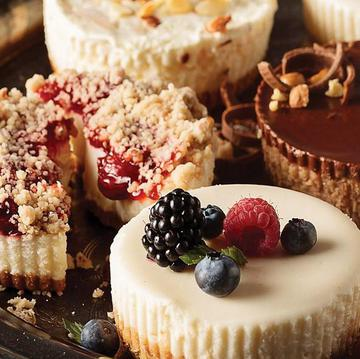 Send a Cheesecake dessert sampler