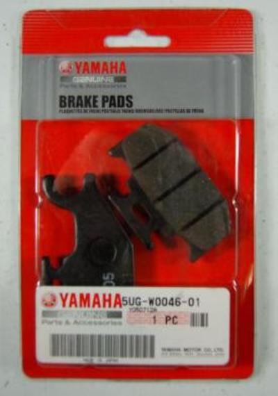 BRAKE PADS FOR YAMAHA 5UG-W0046-01-00 5UG-W0046-00-00 REPLACEMENT