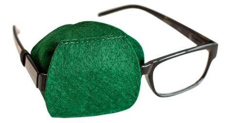 Green Eye Patch for Adults