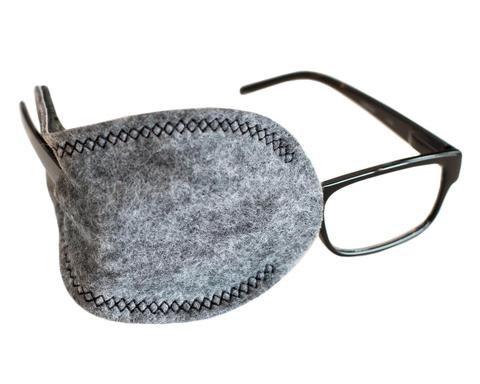 Grey Pocket Eye Patch for Adult