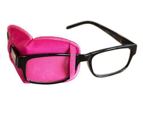 Eye Patch for Adults - Hot Pink Cotton Eye Patch