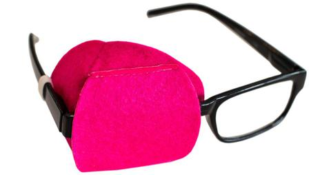 Hot Pink Eye Patch for Adult