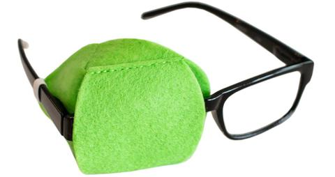 Lime Green Eye Patch for Adult