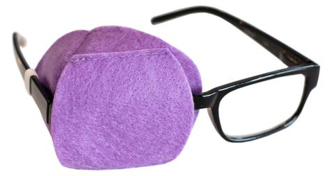 Purple Eye Patch for Adult
