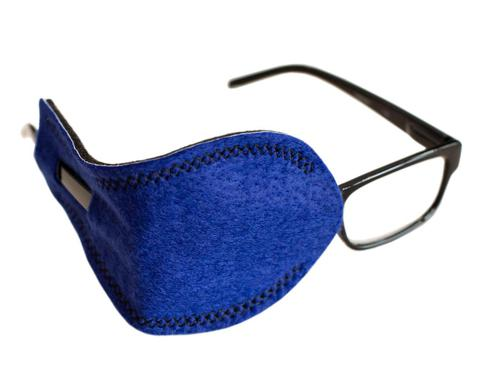 Blue Pocket Eye Patch for Adult