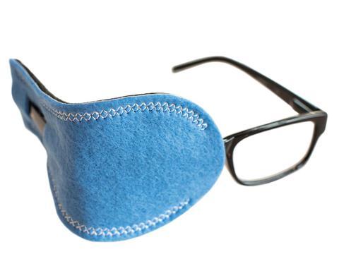 Sky Blue Pocket Eye Patch for Adult
