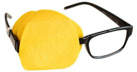 Yellow Eye Patch for Adult