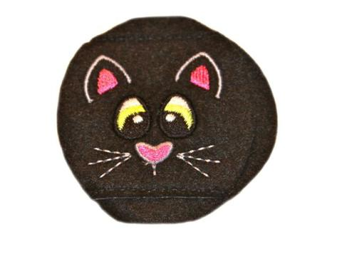 Child Sized Black Cat Eye Patch - Childs Eye Patch for Glasses