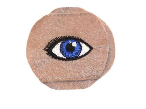 Child Sized Blue Eye Patch - Childs Eye Patch for Glasses