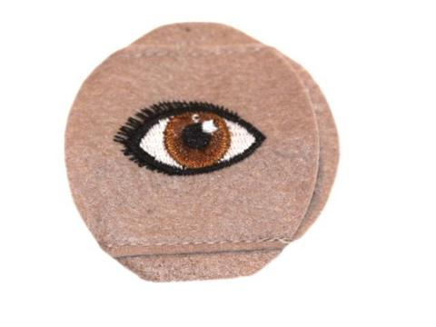 Child Sized Brown Eye Patch - Childs Eye Patch for Glasses