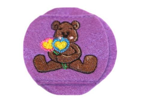 Child Sized Flower Bear Eye Patch - Childrens Eye Patch for Glasses