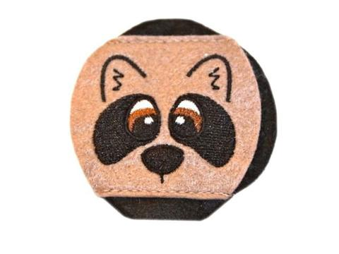 Child Sized Racoon Eye Patch - Childrens Eye Patch for Glasses