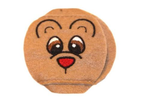Child Sized Teddy Bear Eye Patch - Childrens Eye Patch for Glasses