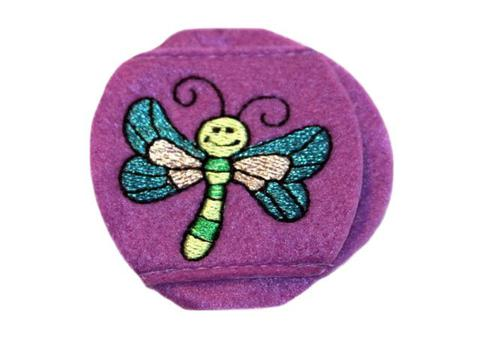 Child Sized Dragonfly Eye Patch - Childrens Eye Patch for Glasses