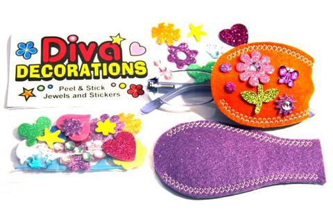 Diva Decorations Pack with Pocket Eye Patches