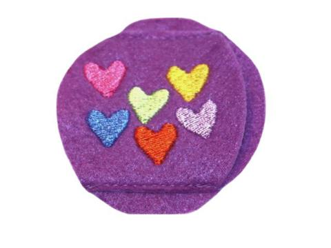 Child Sized Hearts Eye Patch - Childrens Eye Patch for Glasses