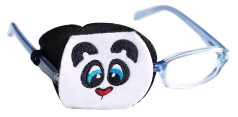 Child Sized Panda Eye Patch - Childrens Eye Patch for Glasses