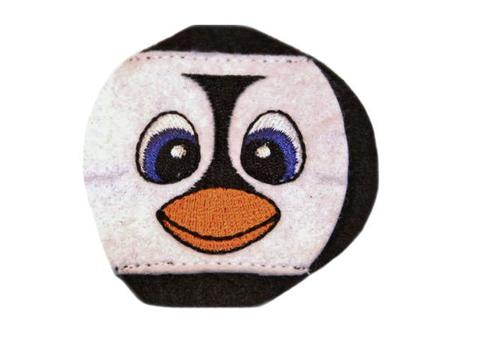 Child Sized Penguin Eye Patch - Childrens Eye Patch for Glasses