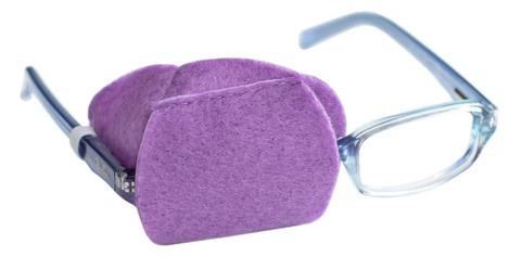 Child Sized Black Eye Patch - Childrens Eye Patch for Glasses