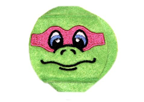 Turtle eye patch with Pink Mask - Childrens eye patch for Glasses