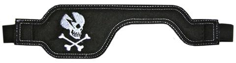 Poggle Eye Patch for Adults - Black Skull