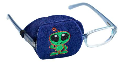 Childs Alien Eye Patch - Childrens Eye Patch for Glasses