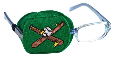 Child Sized Baseball Eye Patch - Childrens Eye Patch for Glasses
