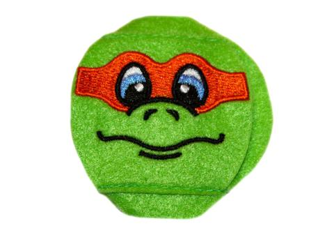 Turtle eye patch with Orange Mask - Childrens eye patch for Glasses