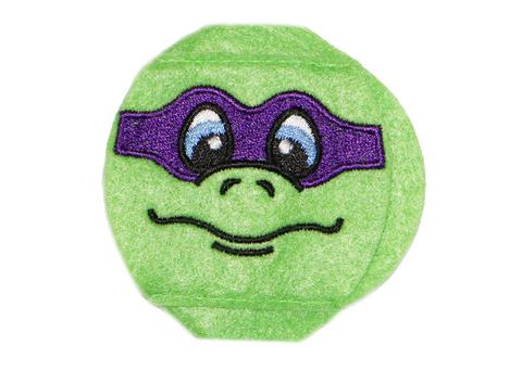 Turtle eye patch with Purple Mask - Childrens eye patch for Glasses