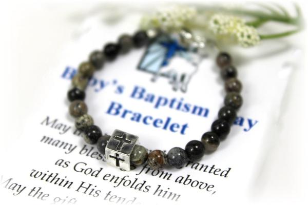 personalized bracelet dp baptism girl amazon name baby newborn com