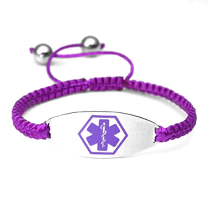 Adjule Medical Alert Bracelet